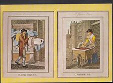 London Postcard - London Cries Illustration From Phillip's Modern London   B2673