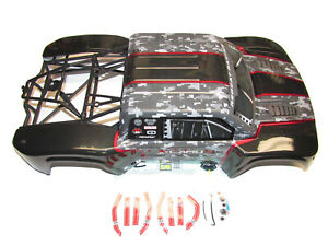 Redcat-Camo-TT-Pro-4x4-Brushless-Short-Course-Desert-Body-Interior-amp-Cage