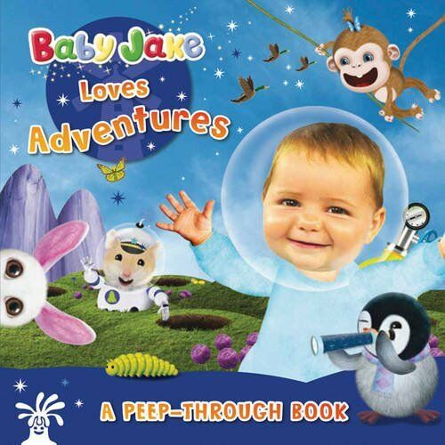 Baby Jake Loves Adventures A Peep-Through Book (Baby Jake Peep Thr... 1405263679