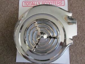 LAMBRETTA-CHROME-FLYWHEEL-COWLING-THIN-TYPE-FOR-SHORT-FIN-FLYWHEELS