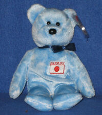 TY NIPPONIA the BEAR BEANIE BABY - MINT with MINT TAGS - JAPAN EXCLUSIVE