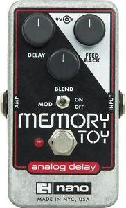 Electro-Harmonix-Memory-Toy-Analog-Echo-Chorus-Delay-Nano-Guitar-Pedal-EHX
