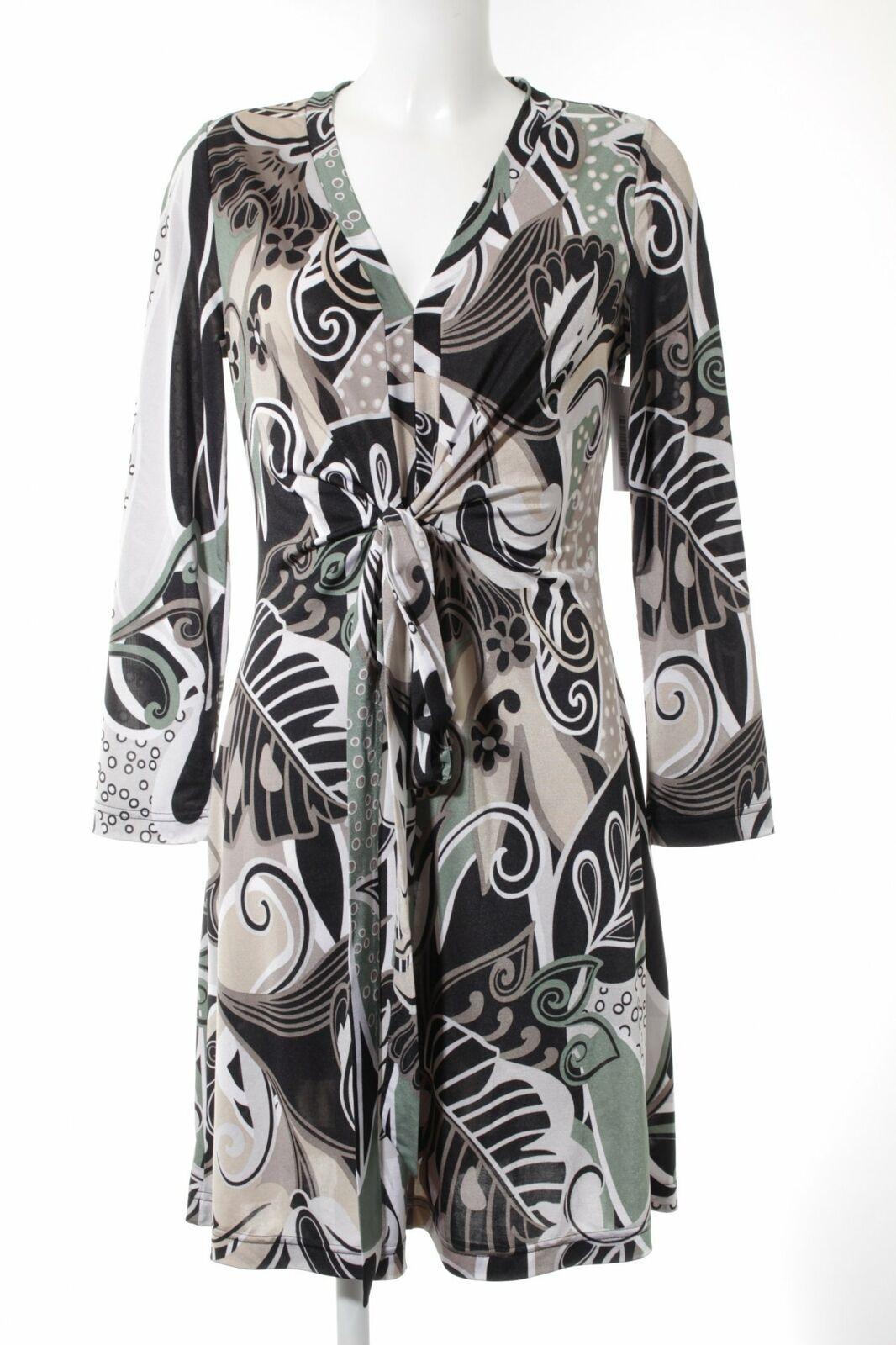 APART Langarmkleid abstraktes Muster extravaganter Stil Stil Stil Damen Gr. DE 40 schwarz   Bestellung willkommen    Auf Verkauf    Konzentrieren Sie sich auf das Babyleben  4cbb84