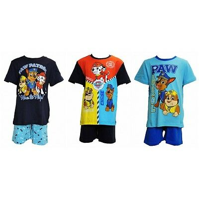 Spring Summer Collection PAW PATROL GIRLS Pawfect Team Short Sleeve Pyjama Set