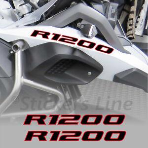 Adesivi-BMW-R1200-GS-Adventure-scritte-adesive-Becco-Anteriore-Nero-Rosso