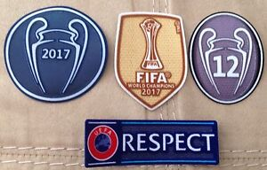 52cf2c0ab7127 2017-18 UEFA Champions League patch kit- Real Madrid FC jerseys