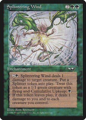Levendig Splintering Wind Alliances Nm-m Green Rare Magic The Gathering Mtg Card Abugames Betrouwbare Prestaties