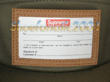 Supreme Box Logo Big Game Camp Cap 5 Panel Cap Olive Military SB Adjustable