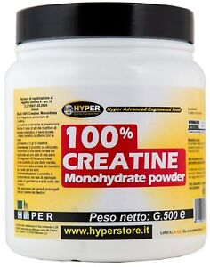 100-Creatine-500-gr-Creatina-Monoidrato-in-Polvere-Made-in-Italy