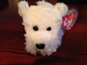 Ty Beanie Baby FARLEY - the Dog w/ Tag protecto  #2
