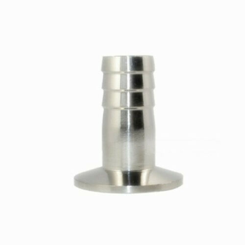 1.5/'/' Tri Clamp to 25mm 1/'/'Hose Barb Adapter Stainless steel Connector Ferrule