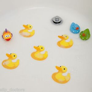 Image Is Loading Bathtub Stickers Ducks Safety Decals Treads Non Slip