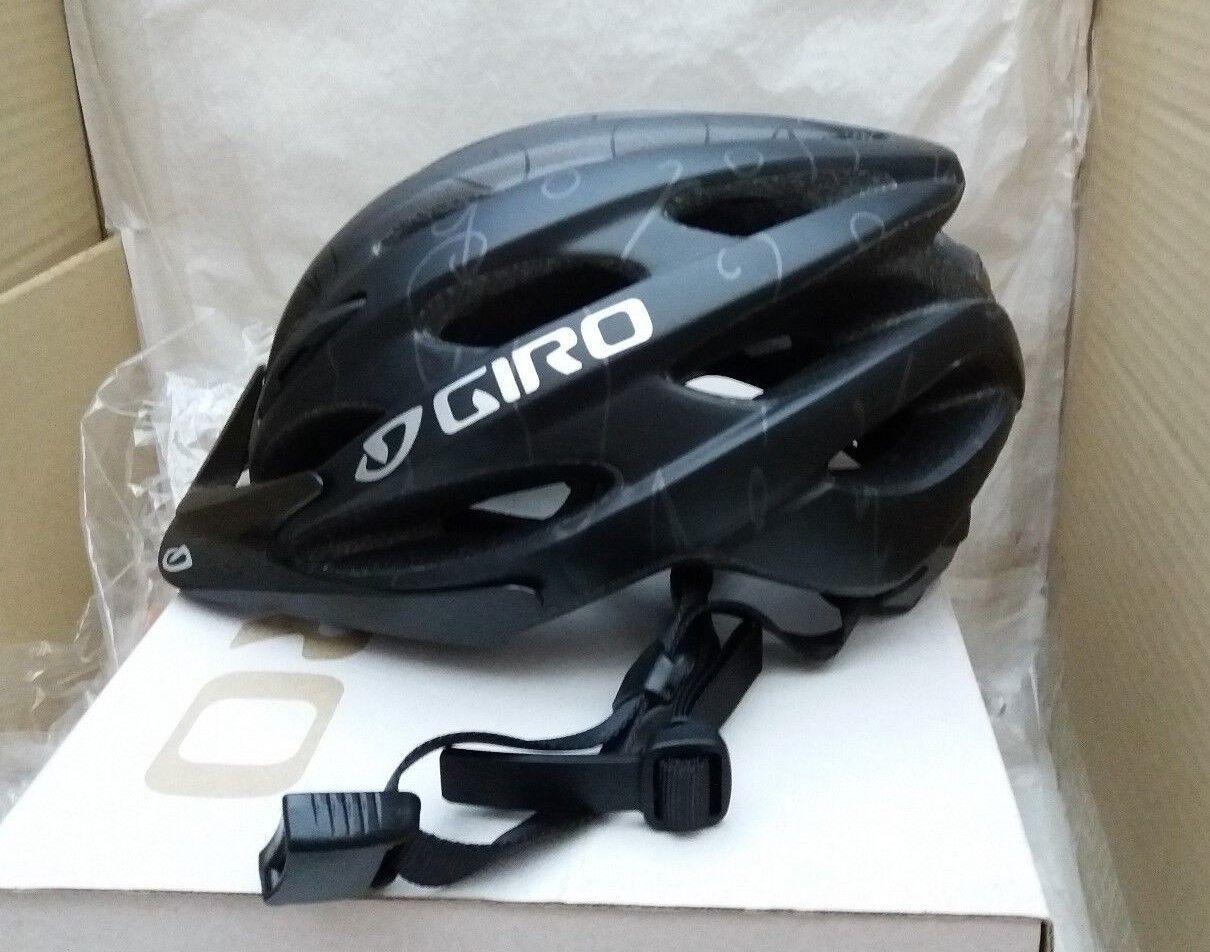 Giro Verona-Mujer Casco para ciclismo-Negro Mate  emborronar-Ajuste Universal 50-57 Cm  mejor marca