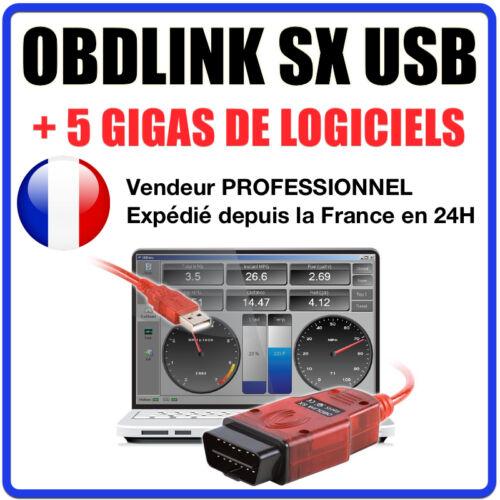 Valise Diagnostique Pro Multimarque En Français Obd Obd2 Diagnostic OBDLINK SX