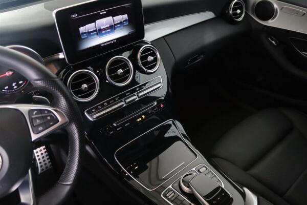 Mercedes C250 d 2,2 AMG Line stc. aut. 4Matic billede 12