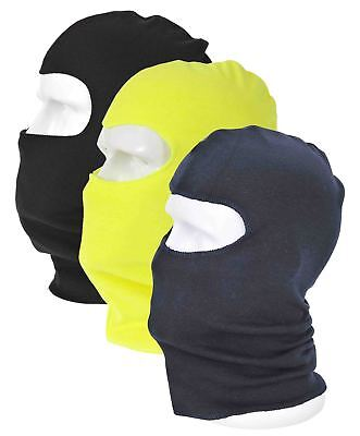 Balaclava By Portwest Warm Fleece Navy Or Black Cold Weather