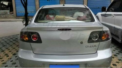 Factory Style Spoiler Wing ABS for 2003-2009 MAZDA 3 Sedan Spoiler B