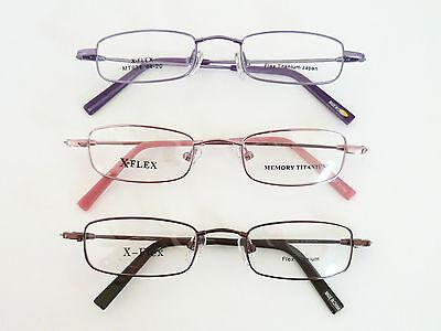 b5be4d7e898b Details about X-flex 44-20-130 Rectangle Kids Eyeglasses Frame 44-20-130 3- COLORS Retail $89