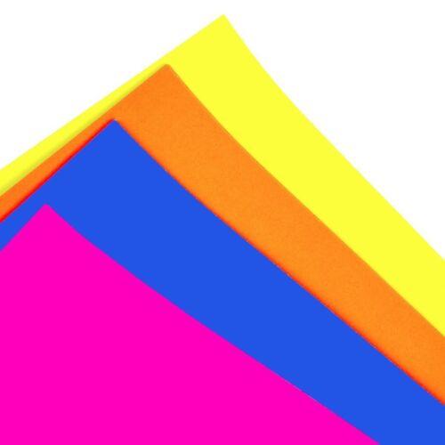 A4 Fluorescent carte 32 Feuilles Multi couleur néon fluorescentes Papier école//VENTE AU DÉTAIL