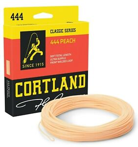 Cortland-444-Peach-Double-Taper-Fly-Line-ALL-SIZES-FREE-FAST-SHIPPING