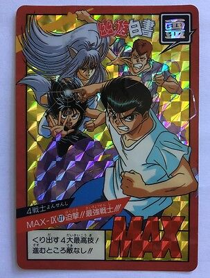 Flight Tracker Yu Yu Hakusho Super Battle Power Level Prism 177