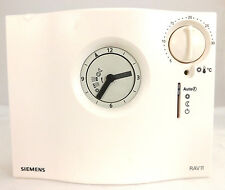 SIEMENS RAV 11.1 PROGRAMMABLE ROOM THERMOSTAT ANALOGUE VAT AND DELIVERY INCLUDED
