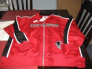 RARE Mens Atlanta Falcons Mitchell Ness Shotgun Track Jacket Size ...