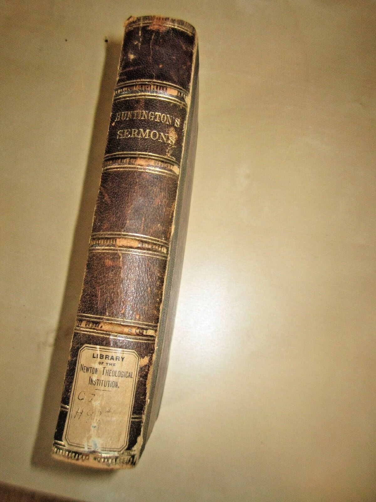 1856 sermons for the people by frederic huntington antique