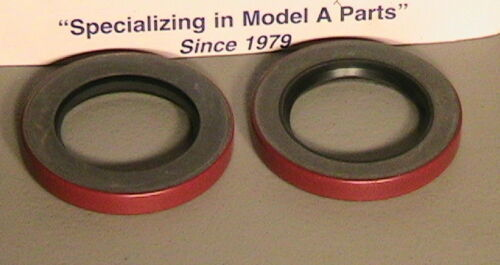1928-1931 Model A Ford Rear Wheel Outer Grease Seals Set of 2