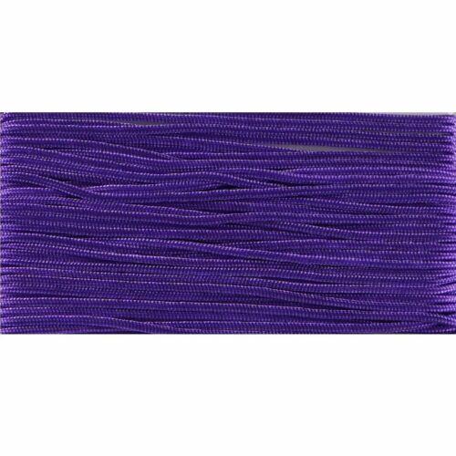 1.2mm Multi-color trenzado cuerda de nylon Collar de cadena Crafts Hacer Rosca 10m