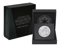 2018 STAR WARS CLASSICS |  JABBA THE HUTT 1oz SILVER COIN