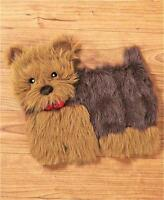Yorkie Dog Breed Stuffing Free Eleven Squeaker Pup Pad Dog Pet Toy-adorable