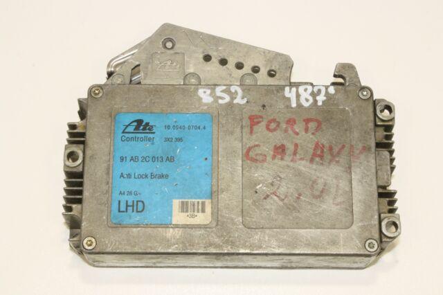 Ford Galaxy Escort Scorpio ABS Unidad de Control 91AB2C013AB
