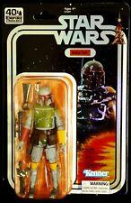 Hasbro Boba Fett SDCC 2019 Star Wars 40th Anniversary Action Figure