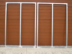 STEEL-GATE-FRAMES-BRAND-NEW-50X25-TUBING
