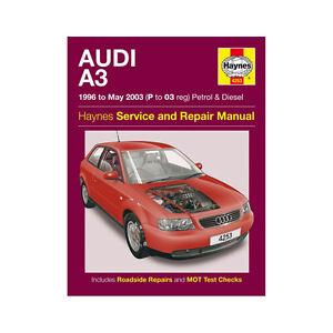 audi a3 haynes manual 1996 03 1 6 1 8 petrol 1 9 diesel workshop rh ebay co uk Audi A3 Hatchback Audi A3 TDI