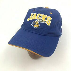 VINTAGE The Game South Dakota State Jackrabbits Hat Cap Size Small Blue Yellow