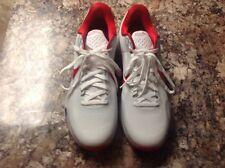 Nike Kobe 10 X TB Red White Basketball Sneakers 813030-160 Sz 16.5 Free Ship