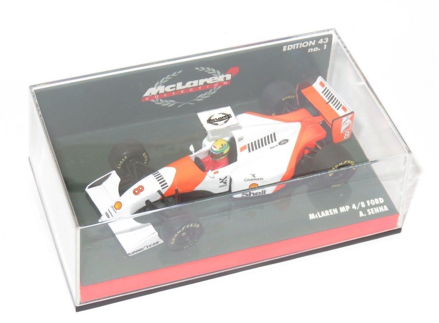 1/43 McLaren Ford MP4-8 1993 Stagione A. Senna Minichamps McLaren Collezione No.1
