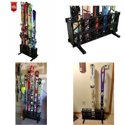 Freestanding PARABOLIC Ski Storage Rack