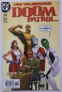 Doom Patrol #13 DC comic book 2002 VF