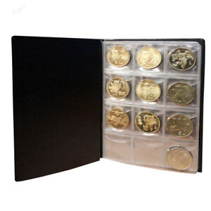 120Pcs-Coin-Album-Holders-10-Pages-for-Coins-Collector-Collection-Book-3-Colors