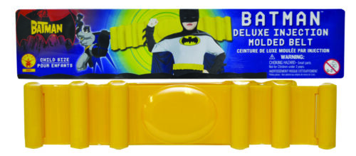 Batman Child Molded Belt  Costume Accessories
