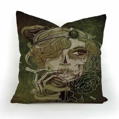 Deep Sea Whale Throw Sofa Cushion Cover Car Pillow Cover Case Vintage Style