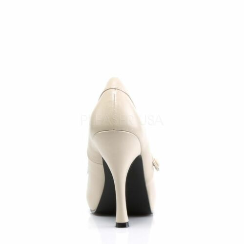 Hot Creme plateau 02 Rockabilly Pumps Mary Hidden Couture Up janes Cutiepie Pin qga1W