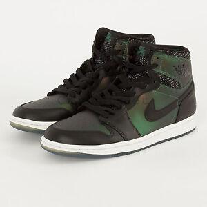 big sale e2cbe 1e7f8 Image is loading Nike-Air-Jordan-1-SB-QS-I-Black-