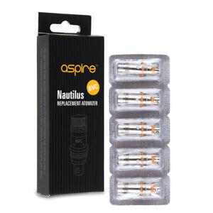 5-Aspire-Nautilus-Nautilus-Mini-BVC-Coil-039-s-1-6-1-8-0-7-ohm-Resistances-Coil