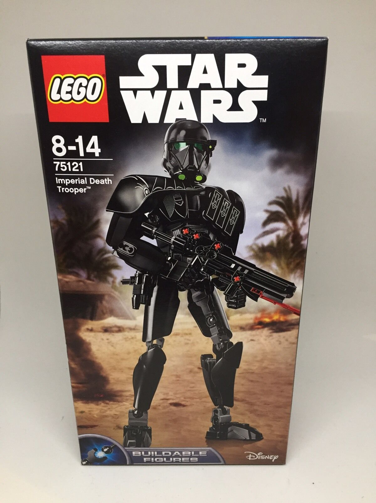 75121 LEGO Star Wars Imperial Death Trooper 26cm Figure Set 106 Pieces Ages 8-14