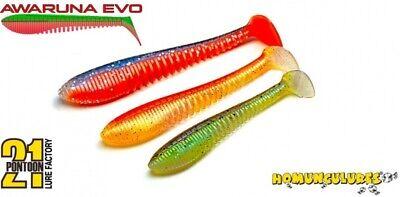 Pontoon 21 Homunculures Awaruna Evo 3,5/'/' fishing lures original range of colors