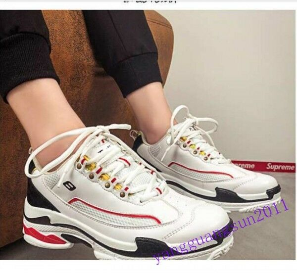 Summer Breathable Sport Mens shoes Lace Up Mesh Running Athletic Korea Fashion 9